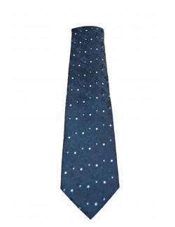 Goldenland slim nyakkendő-Fekete Mintás