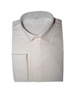 Esküvői mandzsettás férfi ing-Ekrü