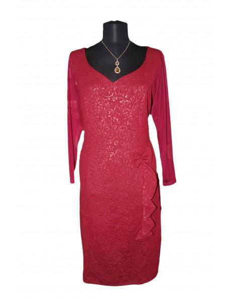 Női egyrészes ruha-Piros