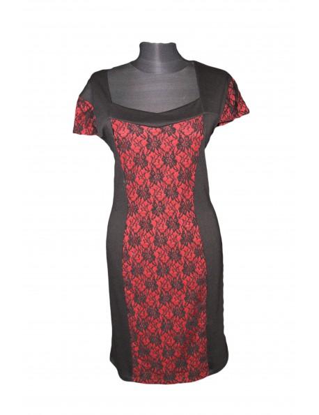 ac470ea951 ZseZsu női egyrészes csipkés ruha-Fekete - ZseZsu Fashion