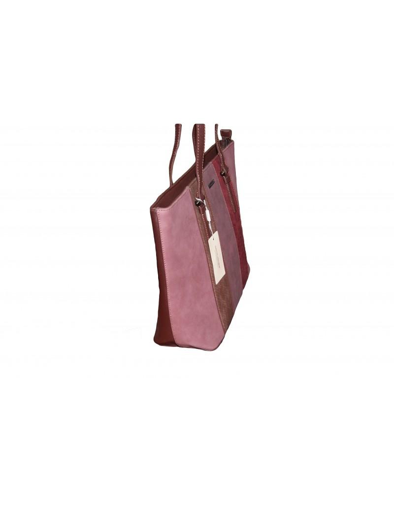 ced38c4ae443 David Jones női táska-Rózsaszín Mintás - ZseZsu Fashion