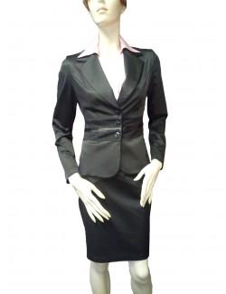 Női kosztüm kétrészes-Fekete