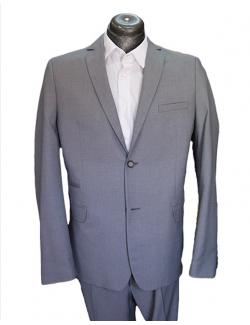 Normal egyenes fazonú öltöny-ÚJ Világos Szürke