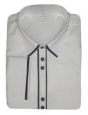 Carlo Benetti társasági ing-Fehér fekete dísszel
