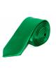 Slim Szatén nyakkendő - Zöld