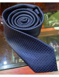 Goldenland slim nyakkendő-Kék Mintás