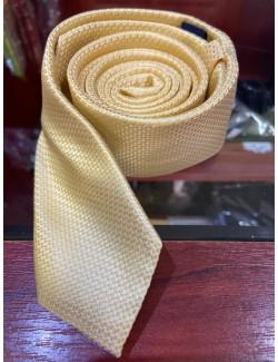 Goldenland slim nyakkendő-Sárga Mintás